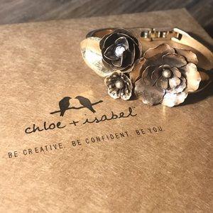 Flores De Oro Statement Bracelet